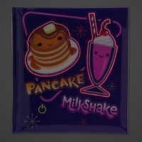 Image of Pancake and Milkshake Light-Up Journal - Ralph Breaks the Internet # 2
