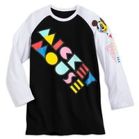 Mickey Mouse '80s Flashback Baseball T-Shirt - Adults