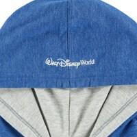 Mickey Mouse Raglan Sleeve Pullover Hoodie - Walt Disney World - Blue - Men