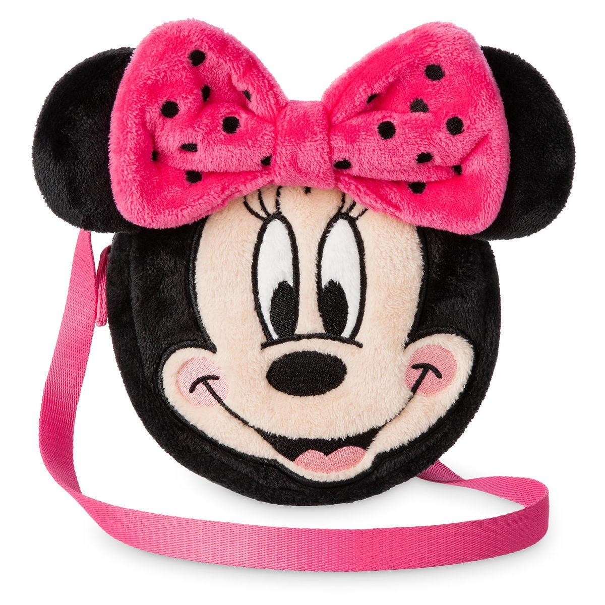 597119814c0f8 Product Image of Minnie Mouse Plush Purse for Girls   1