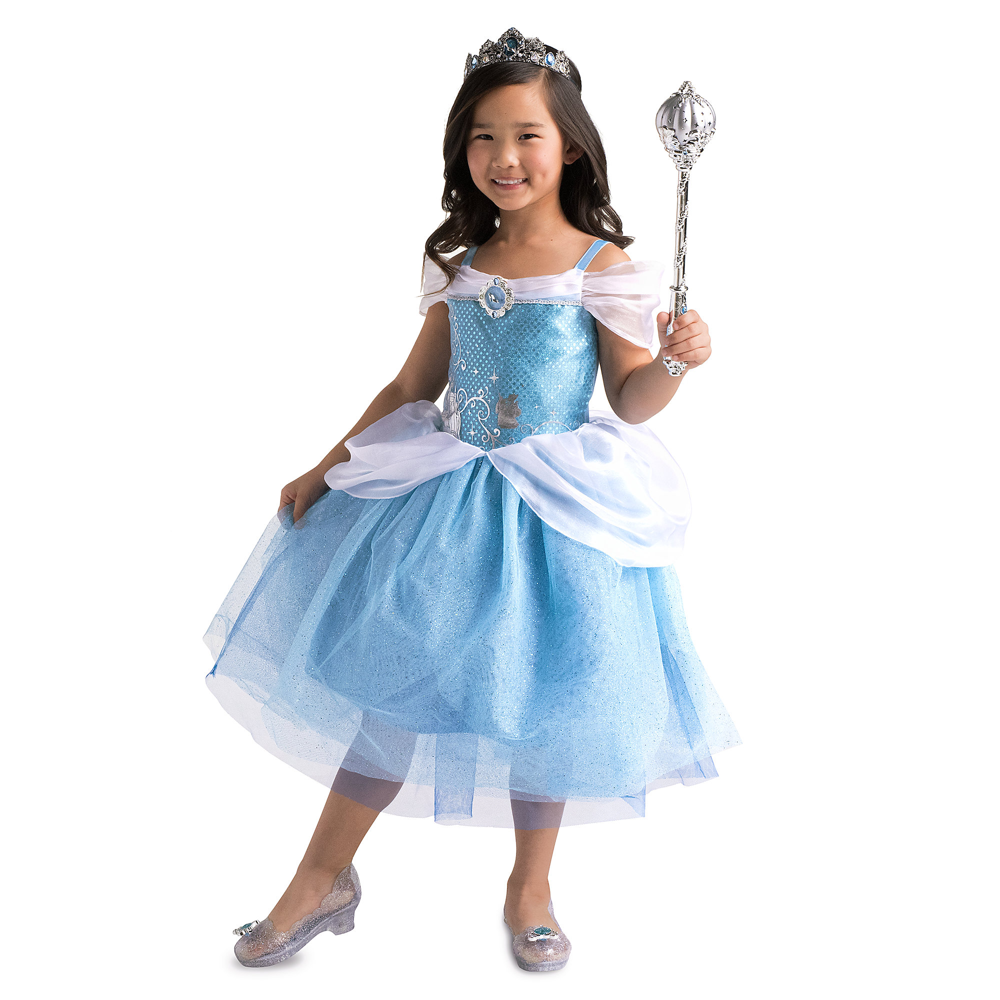 Thumbnail Image of Cinderella Costume for Kids # 2  sc 1 st  shopDisney & Cinderella Costume for Kids | shopDisney