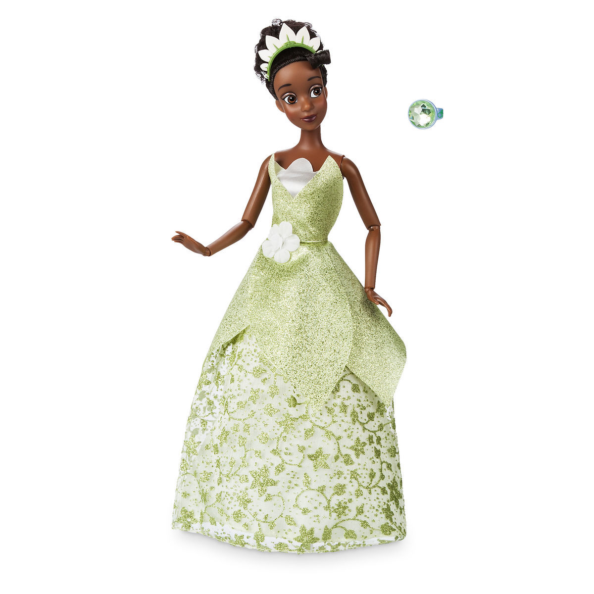 tiana classic doll with ring the princess and the frog 11 1 2