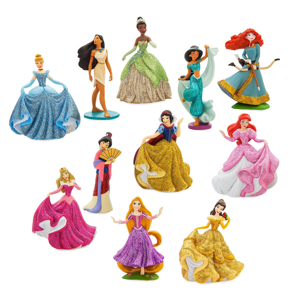 Product Image Of Disney Princess Deluxe Figure Playset Happily Ever After