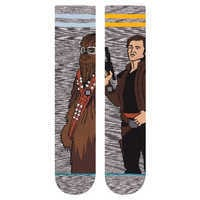 Image of Han Solo and Chewbacca Kessel Run Socks by Stance for Adults - Solo: A Star Wars Story # 2