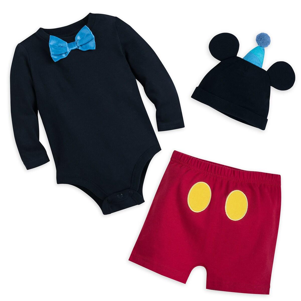47ac37c33 Product Image of Mickey Mouse Tuxedo Bodysuit Set for Baby - Walt Disney  World # 1