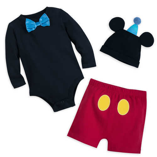 Mickey Mouse Tuxedo Bodysuit Set for Baby - Walt Disney World