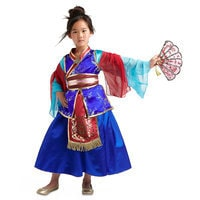 Image of Mulan Deluxe Costume For Kids # 2