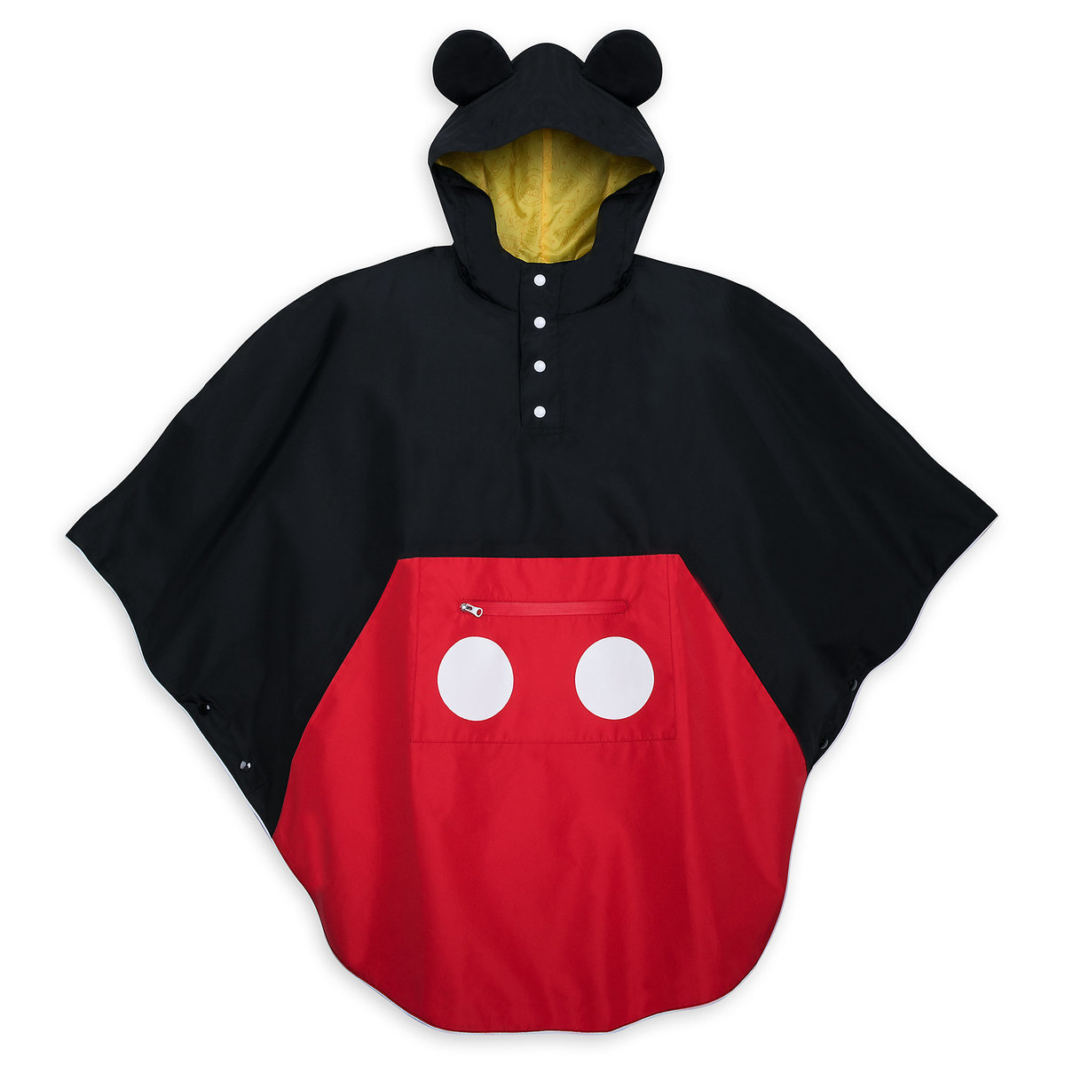 105d62c4d892 Product Image of Mickey Mouse Rain Poncho for Adults # 1