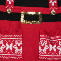 Image of Minnie Mouse Knitted Elf Tunic for Women # 2