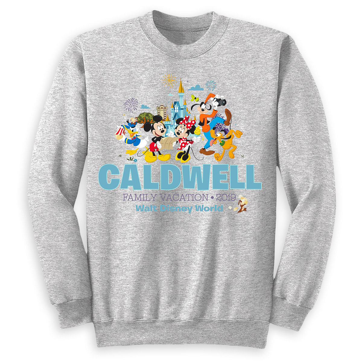 069a045d Product Image of Mickey Mouse and Friends Family Vacation Pullover for  Adults - Walt Disney World