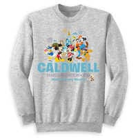Image of Mickey Mouse and Friends Family Vacation Pullover for Adults - Walt Disney World 2019 - Customized # 1