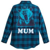Image of Merida ''Mum'' Flannel Shirt for Women - Ralph Breaks the Internet # 2