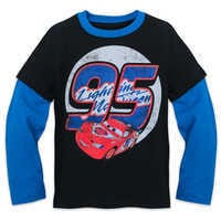 Image of Lightning McQueen Double-Up Long Sleeve Shirt for Kids # 1