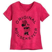 Image of Minnie Mouse Mouseketeer T-Shirt for Girls # 1
