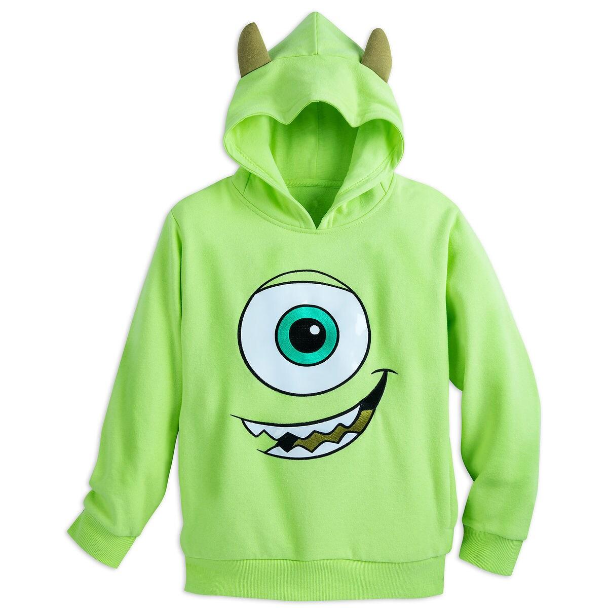 mike wazowski costume fleece pullover hoodie for boys shopdisney