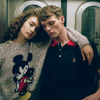 Image of Mickey Mouse Haldon Sweater for Adults by rag & bone # 4
