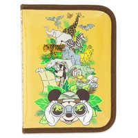 Image of Mickey Mouse and Friends Safari Zip-Up Stationery Kit - Disney's Animal Kingdom # 3