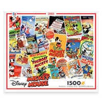 Image of Mickey Mouse Movie Posters Jigsaw Puzzle by Ceaco # 1