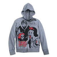 Image of Snow White and Evil Queen Zip Hoodie for Women # 1