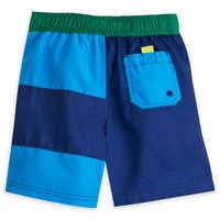 Image of Lightning McQueen Swim Trunks for Boys # 3