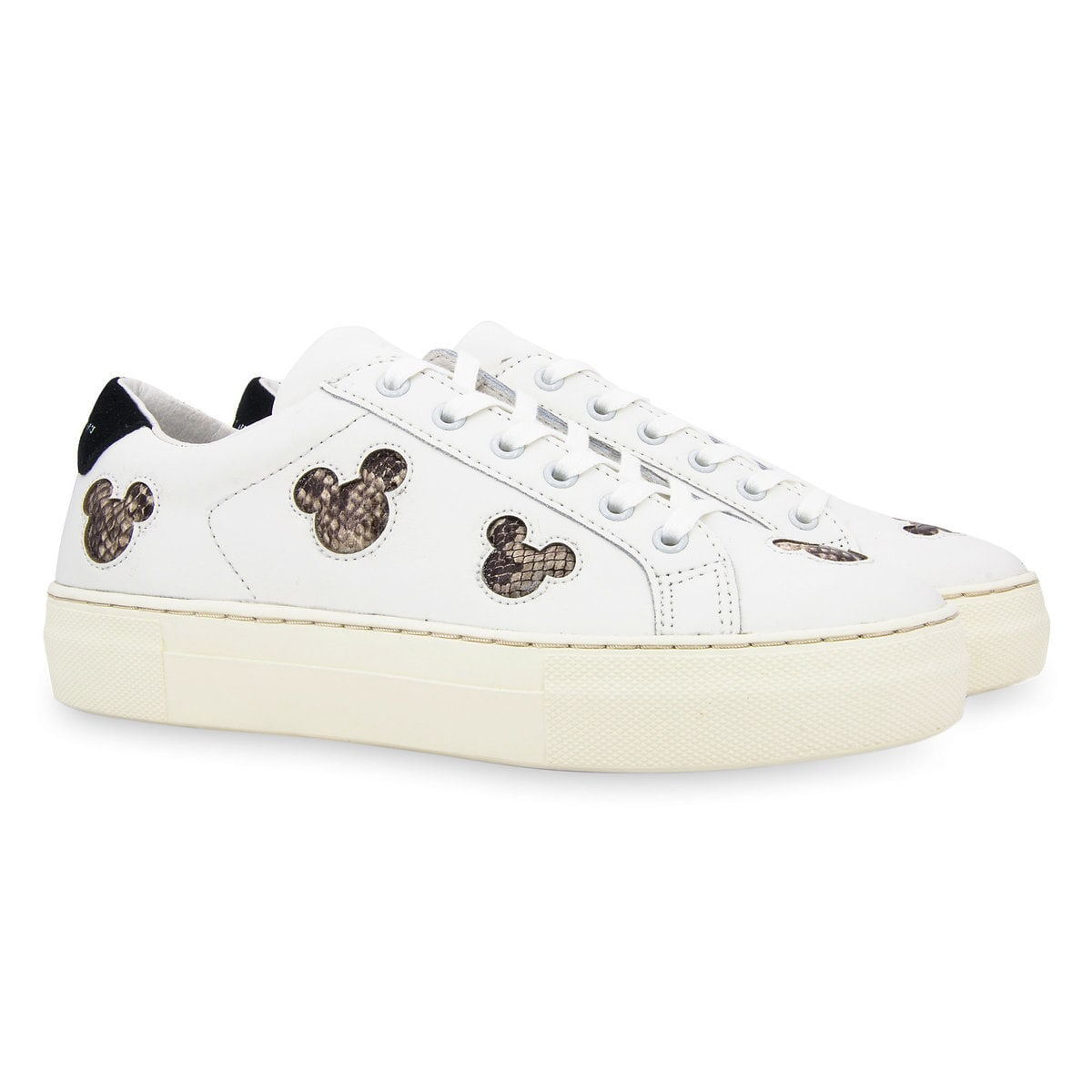1f6305470c1a Product Image of Mickey Mouse Silhouette Sneakers for Women by Master of  Arts   1