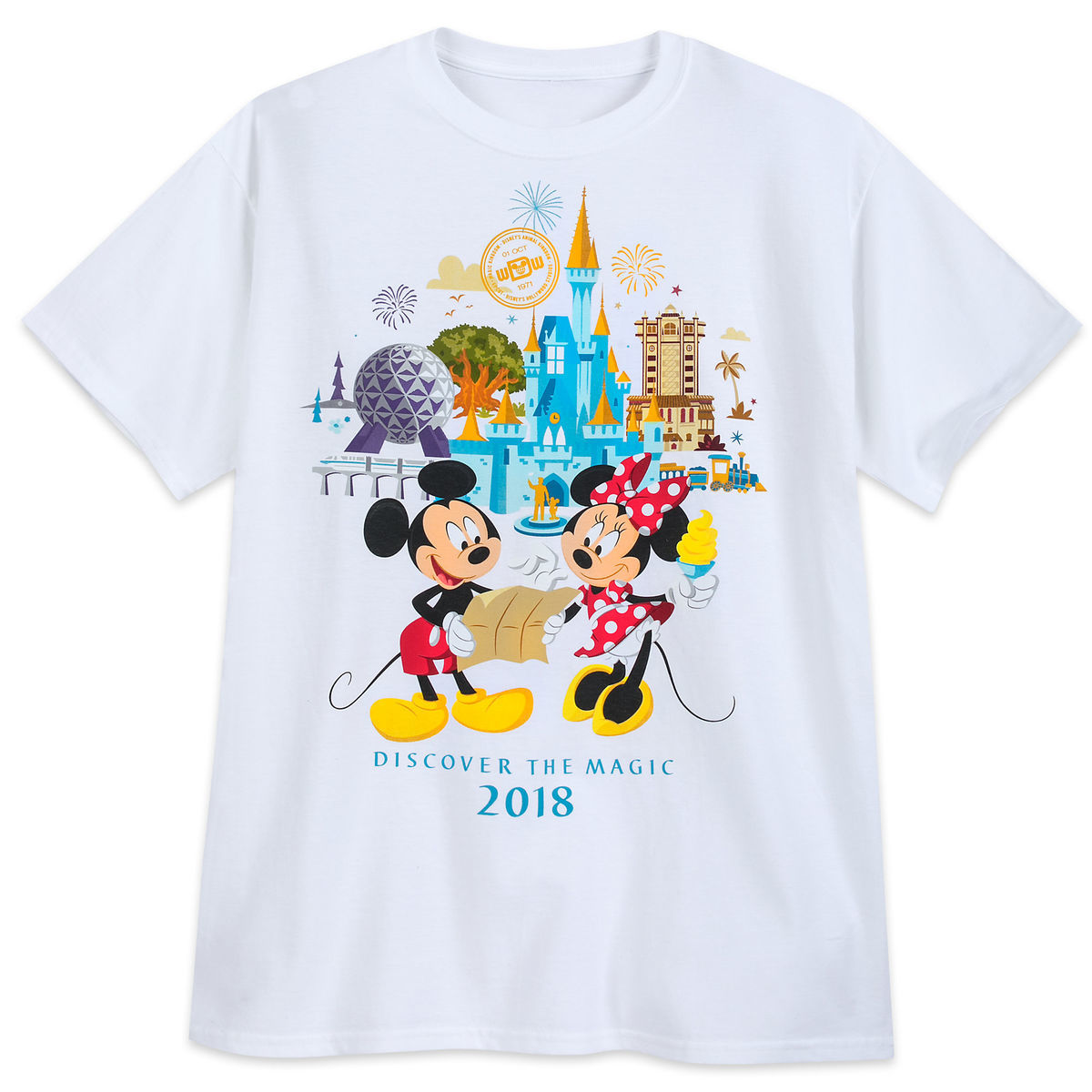 Minnie And Mickey Mouse T Shirt For Adults Walt Disney World 2018