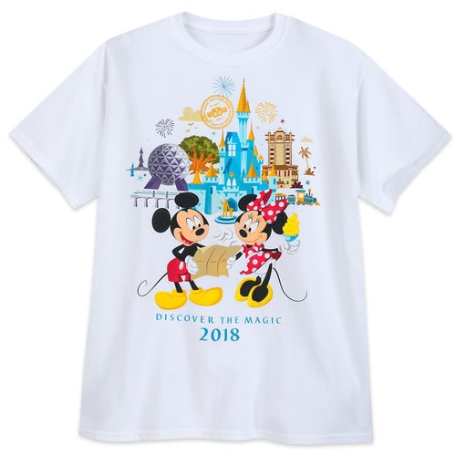 minnie and mickey mouse t-shirt for adults
