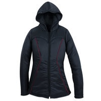 Image of Black Widow Hooded Jacket for Women by Her Universe # 1