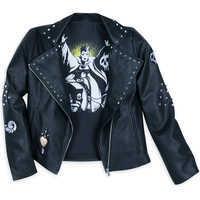 Image of Disney Villains Moto Jacket for Women - Plus Size # 4