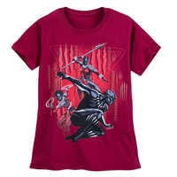 Image of Black Panther T-Shirt for Women - Red # 1