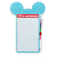 Image of Mickey Mouse ''Disney Daydreams'' Magnetic Notepad and Pen # 1