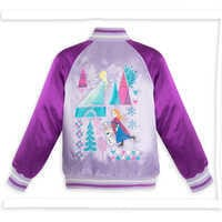 Image of Frozen Varsity Jacket for Girls - Personalizable # 2