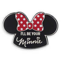 Image of Minnie Mouse Mouseketeer Ear Hat Pin # 2