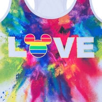 Image of Rainbow Mickey Collection Fitted Tank Top for Adults # 2