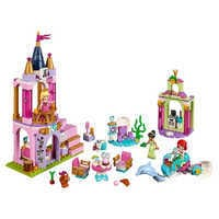 Image of Ariel, Aurora, and Tiana's Royal Celebration Playset by LEGO # 1
