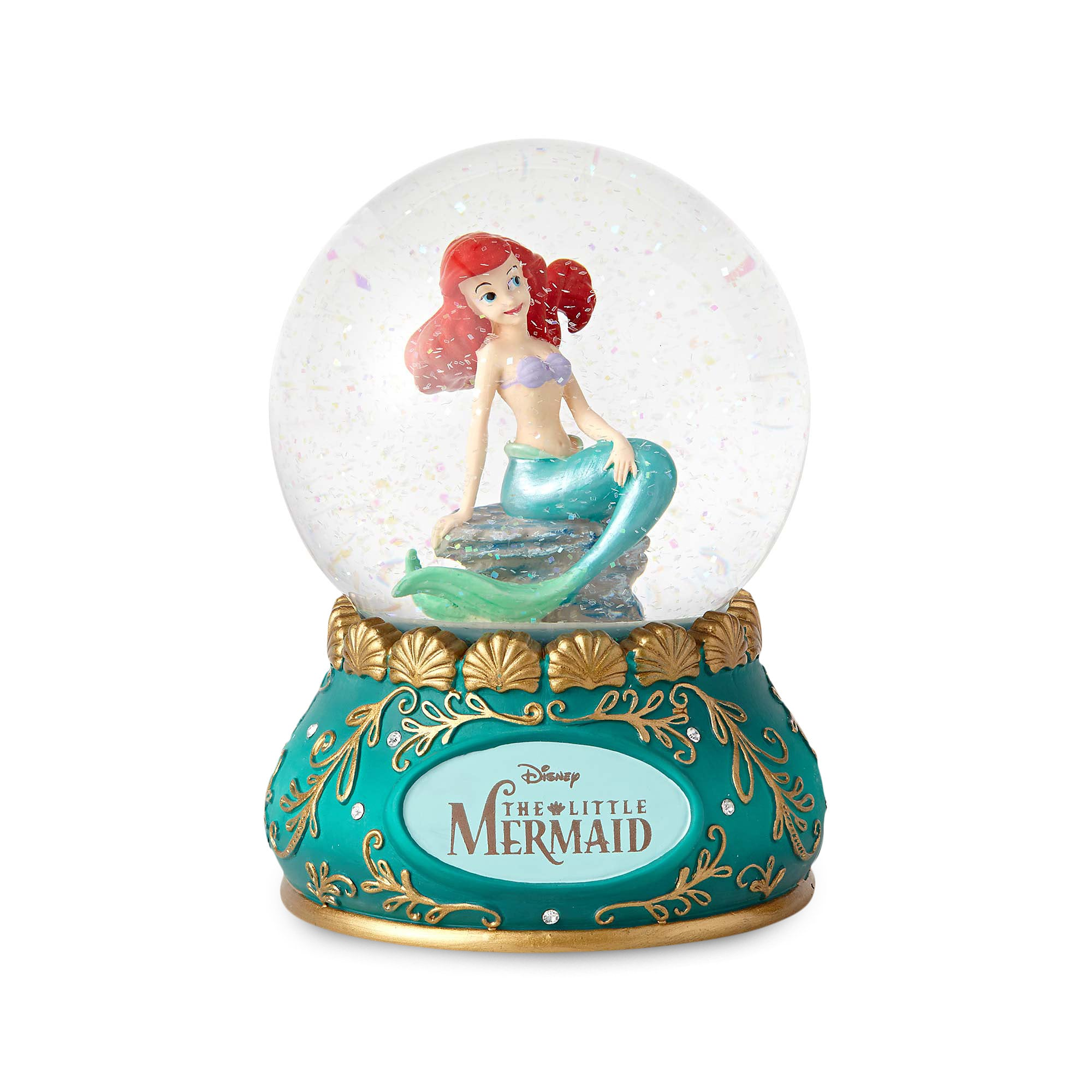 Ariel Couture De Force Water Globe by Enesco
