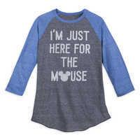 Image of Mickey Mouse Raglan Baseball T-Shirt for Men # 1