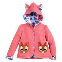 Image of Bambi Hoodie Jacket for Girls - Disney Furrytale friends # 1