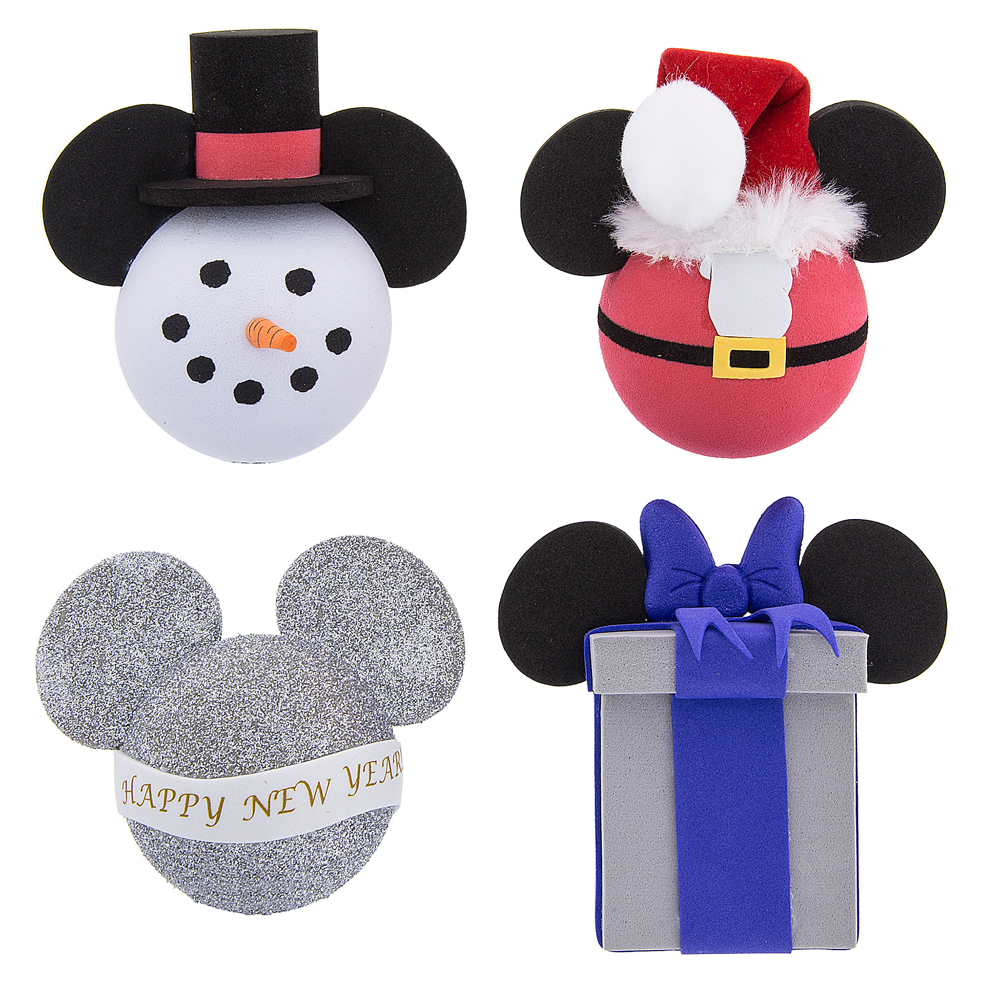 Mickey Mouse Holiday Antenna Topper Set