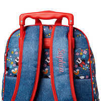 Image of Minnie Mouse Rolling Backpack - Personalized # 5