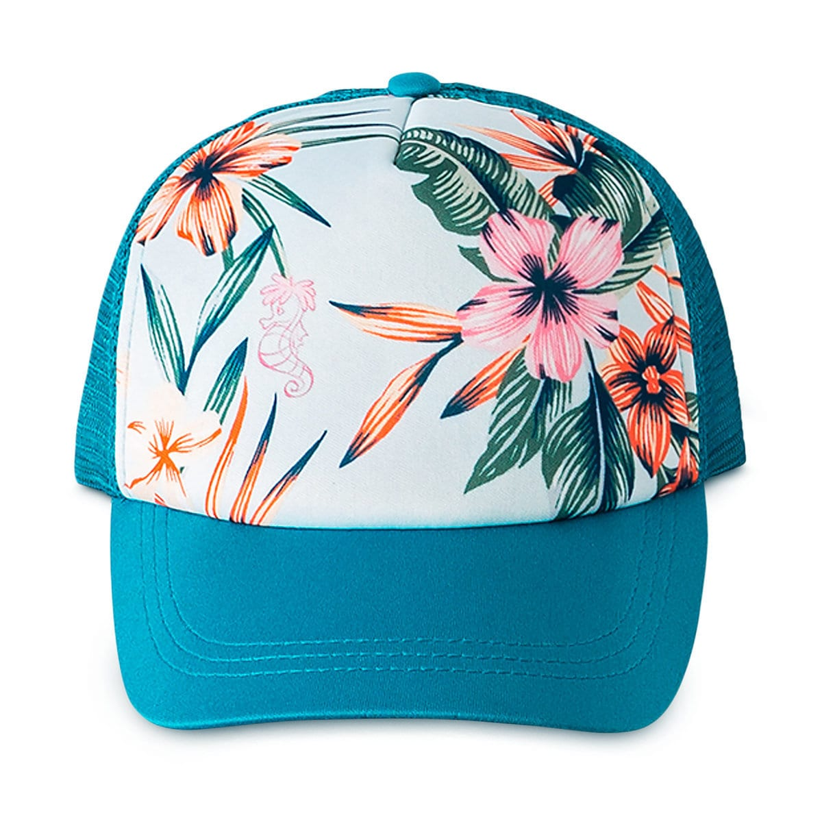 6149e07c9ef196 Product Image of The Little Mermaid Trucker Hat for Girls by ROXY Girl # 1