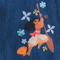 Image of Moana Woven Dress for Girls # 3