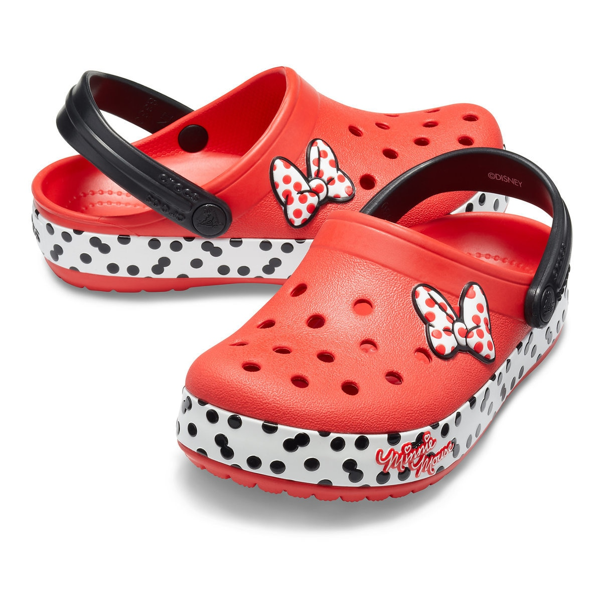 4e8e0c68c672 Minnie Mouse Crocband Clogs for Kids by Crocs