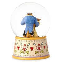 Image of Beauty and the Beast 'Tale As Old As Time' Snowglobe - Jim Shore # 2