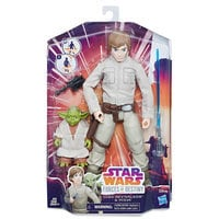 Image of Luke Skywalker and Yoda Action Figure - Star Wars: Forces of Destiny - Hasbro # 2