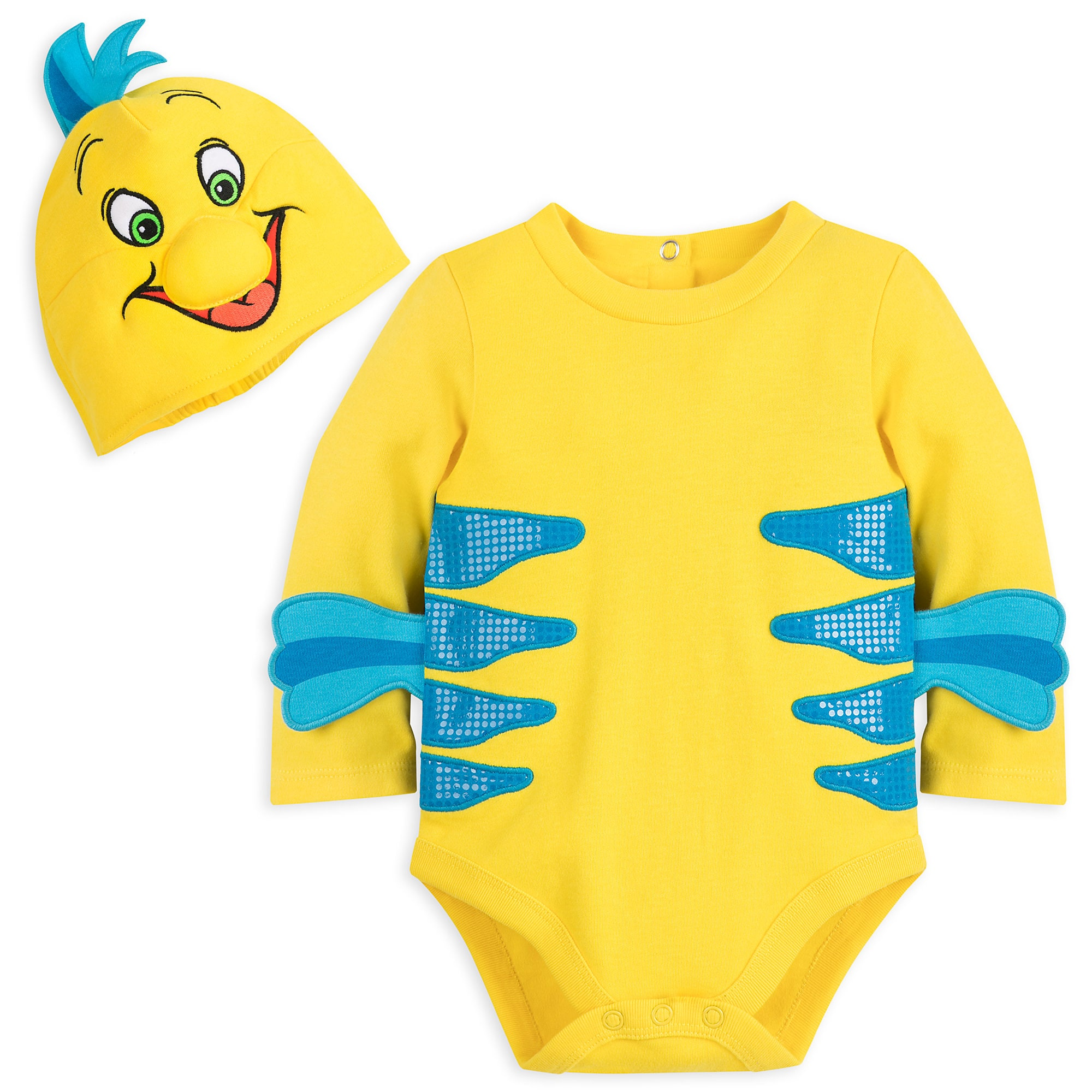Flounder Costume Bodysuit for Baby - The Little Mermaid  sc 1 st  shopDisney : flounder costume toddler  - Germanpascual.Com