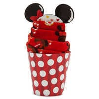 Image of Minnie Mouse Disney Parks Food Icon Cupcake Socks for Kids # 3