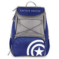 Image of Captain America Cooler Backpack # 1