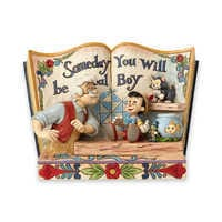 Image of Pinocchio ''Someday You Will Be a Real Boy'' Figurine by Jim Shore # 1