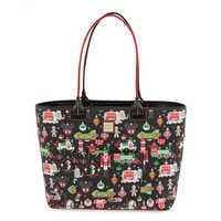 Image of Disney Parks Holiday Tote by Dooney & Bourke # 1